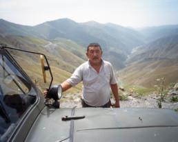 Road to Bishkek, Kyrgyzstan
