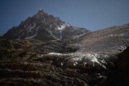 Blast at Bossons Glacier