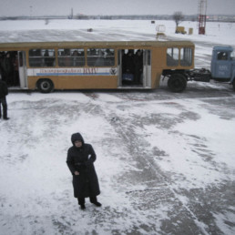 Caucasian Avalanche - Airport in Nalchik