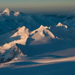 Caucasian Avalanche - sunrise