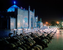 M41. Blue Mosque, Mazar-i-Sharif, Afghanistan